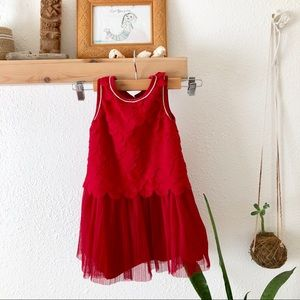 Cat &Jack red party dress